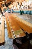 Guiness longest plank Stock Photo