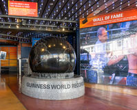 Guiness Museum Logo and Marquee Royalty Free Stock Images