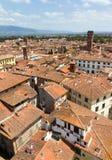 Guinigi塔都市风景 免版税库存图片