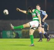 Guinnes赞成12橄榄球-贝纳通对加的夫 图库摄影