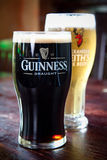 Guinness and Alexander Keith's Royalty Free Stock Photos