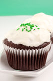 Guinness beer cupcakes Stock Photo