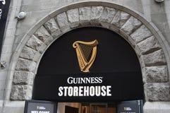 Guinness beer factory in Dublin Stock Photo