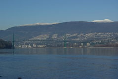 Guinness-Brücke Nordvancouver Stockbilder