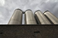 Guinness Brewery in Dublin Royalty Free Stock Photography