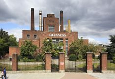 Guinness Brewery in Dublin Stock Photo