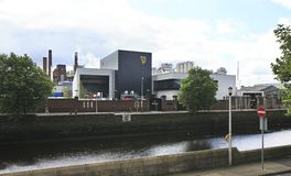 Guinness Brewery in Dublin Royalty Free Stock Photo