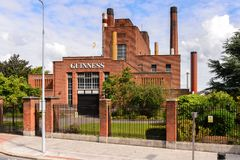 Guinness Brewery. DUBLIN, IRELAND - JULY 12, 2016: Guinness Brewery. Guinness is an Irish dry stout produced by Diageo originated in the brewery of Arthur Stock Photography