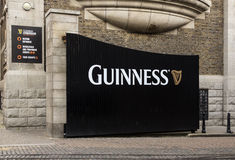 Guinness Brewery Gate, Dublin Royalty Free Stock Images