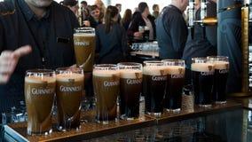 Guinness browar Dublin Irlandia obrazy stock