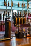 Guinness dispensing bar tap Royalty Free Stock Photos