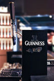 Guinness draft counter at quinness storehouse brewery Royalty Free Stock Photo