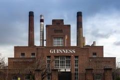 Guinness fabrik Arkivfoton