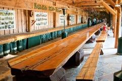 Guinness-längste Planke Lizenzfreie Stockfotos