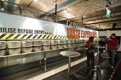 Guinness-Lagerhaus Lizenzfreies Stockbild