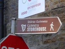 Guinness-Lagerhaus Lizenzfreie Stockfotos