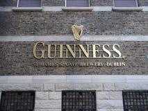 Guinness-Lagerhaus Stockbild