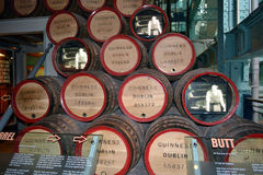 Guinness Storehouse Barrels Stock Photography