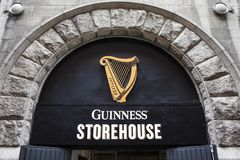 Free Guinness Storehouse In Dublin Royalty Free Stock Image - 125861516