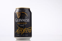 Guinness stout. Kuala Lumpur,Malaysia,5th Aug 2016,Guinness Stout maintain its market leader position in Malaysia , Guinness Stout is marketed by GAB Berhad Royalty Free Stock Photo