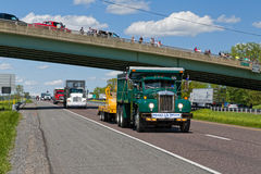 Guinness World Record Truck Convoy Stock Images