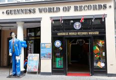 Guinness world records museum Stock Images