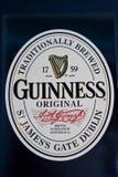 Guinness-Zeichen Stockfotografie