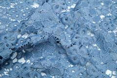 Guipure αέρα μπλε Στοκ Εικόνες