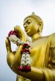 Guirlande à disposition de Bouddha photo stock
