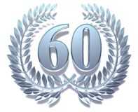 Guirlande 60 de laurier Photo libre de droits