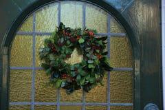 Guirlande classique de Noël Image libre de droits