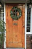 Guirlande classique de Noël Photos libres de droits