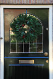 Guirlande classique de Noël Images libres de droits
