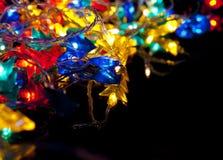 Guirlande décorative de Noël Photographie stock libre de droits