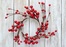 guirlande décorative de Noël Images libres de droits