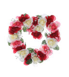 Guirlande de coeur de Valentines Photo stock