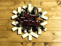 Guirlande de décoration de Noël photo libre de droits