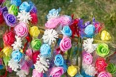 Guirlande de fleur Photographie stock libre de droits