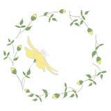 Guirlande de fleur de ressort Photos libres de droits