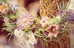 guirlande de fleurs Photos stock