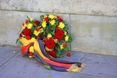 guirlande de fleurs Photo libre de droits