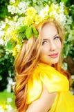 Guirlande de floraison Image stock