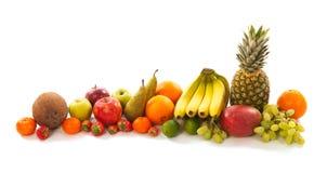 Guirlande de fruit Photo libre de droits