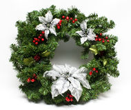 guirlande de l'hiver de vacances de Noël Photos stock