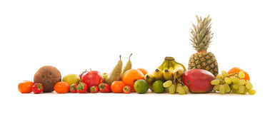 Guirlande de la fruta Imagen de archivo