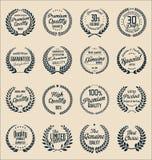 Guirlande de la meilleure qualité de laurier de qualité, collection illustration stock