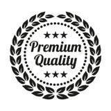 Guirlande de la meilleure qualité de laurier de qualité sur le fond blanc illustration de vecteur