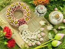 Guirlande de la Thaïlande Photographie stock