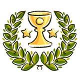 Guirlande de laurier Image libre de droits