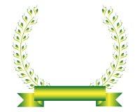 Guirlande de laurier illustration stock